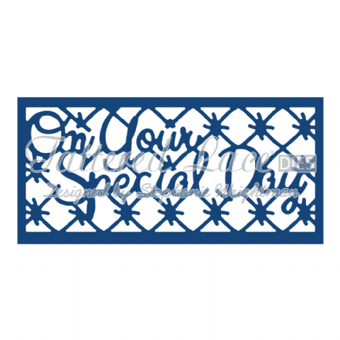 Tattered Lace Die On Your Special Day Panel Inset - D774